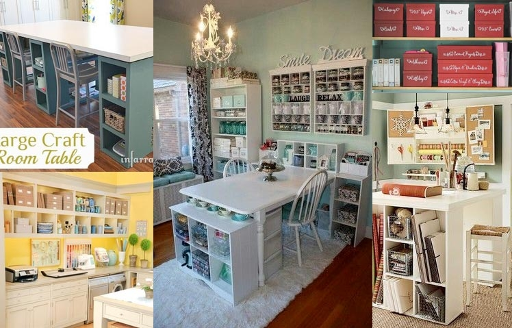 Inspired Craft Room Ideas