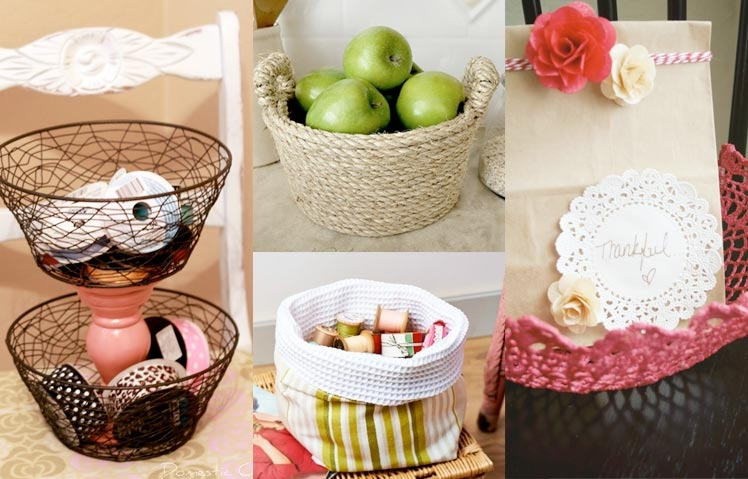 DIY Make Your Own Basket Ideas